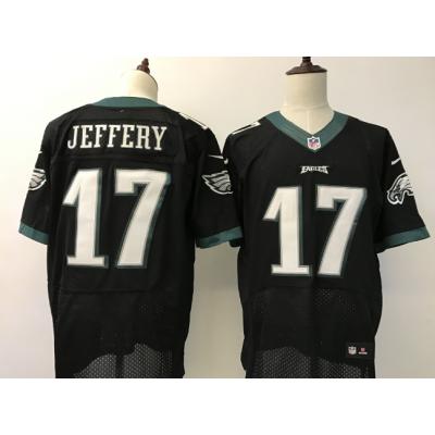 Nike Eagles 17 Alshon Jeffery Black Elite Jersey