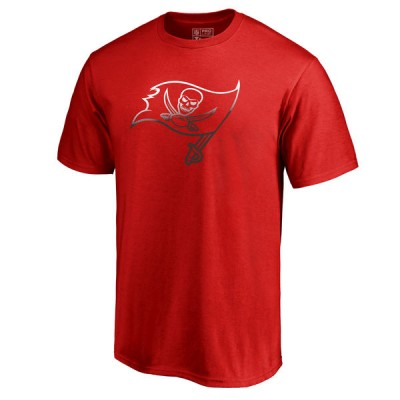 Men's Tampa Bay Buccaneers Pro Line by Fanatics Branded Red Big & Tall Gradient Logo T-Shirt