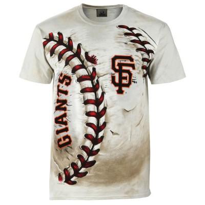 San Francisco Giants Hardball Tie-Dye Cream T- Shirt