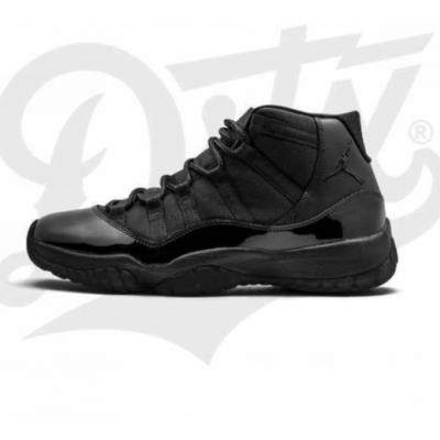 Air Jordan 11 Triple Black Concept Shoes
