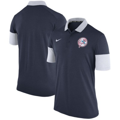 Nike New York Yankees Men's Navy Cooperstown Collection Polo