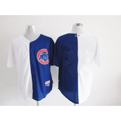 Chicago Cubs Customized Split Male Baseball Jersey