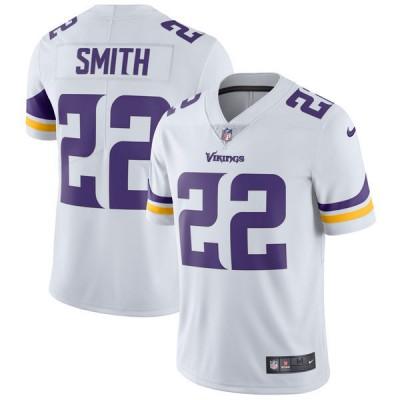 Nike Minnesota Vikings 22 Harrison Smith White Vapor Untouchable Limited Youth Jersey