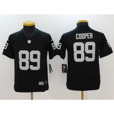 Nike Oakland Raiders 89 Amari Cooper Black Vapor Untouchable Limited Youth Jersey