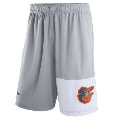 Men's Baltimore Orioles Nike Gray Dry Fly Shorts