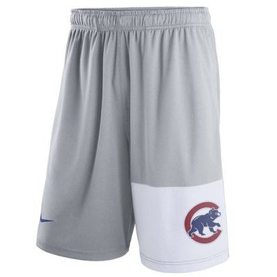 Men's Chicago Cubs Nike Gray Dry Fly Shorts