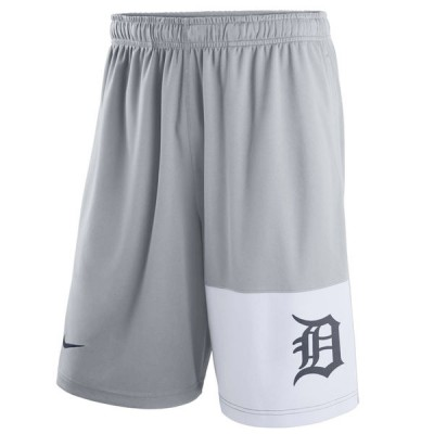Men's Detroit Tigers Nike Gray Dry Fly Shorts