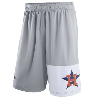 Men's Houston Astros Nike Gray Dry Fly Shorts