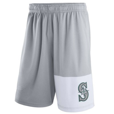 Men's Seattle Mariners Nike Gray Dry Fly Shorts