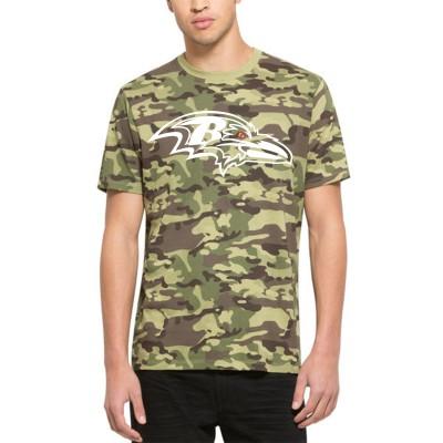 NFL Baltimore Ravens 47 Alpha Camo Men's T-Shirt