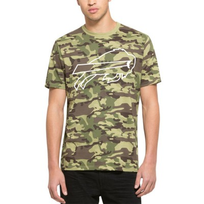 NFL Bills 47 Alpha Camo Men's T-Shirt