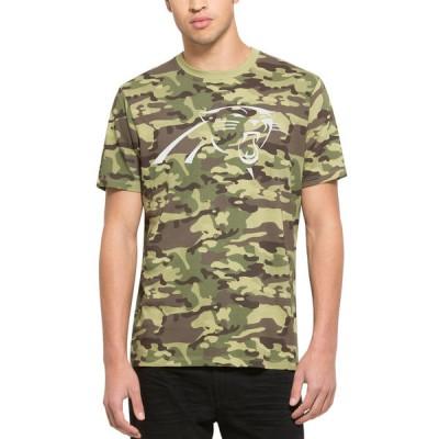 NFL Panthers 47 Alpha Camo Men's T-Shirt