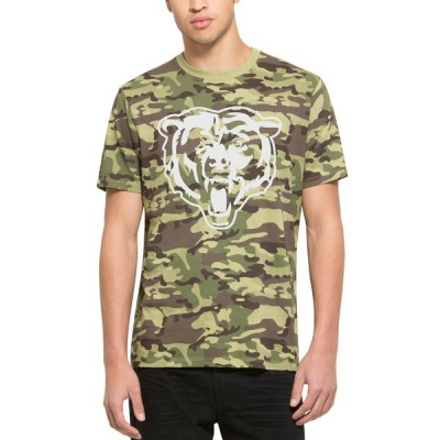 NFL Chicago Bears 47 Alpha Camo Men's T-Shirt