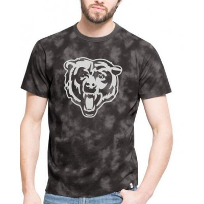 NFL Chicago Bears 47 Blackstone  Black Camo Men's T-Shirt