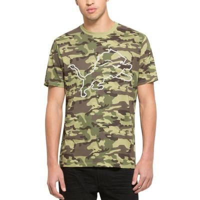 NFL Detroit Lions 47 Alpha Camo Men's T-Shirt