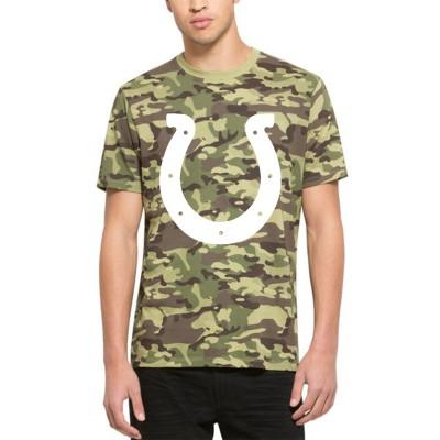 NFL Indianapolis Colts 47 Alpha Camo Men's T-Shirt