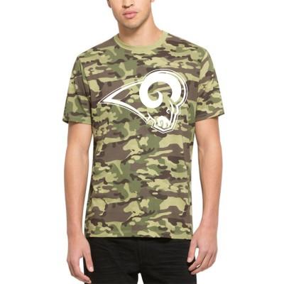 NFL Los Angeles Rams 47 Alpha Camo Men's T-Shirt