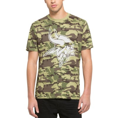 NFL Minnesota Vikings 47 Alpha Camo Men's T-Shirt