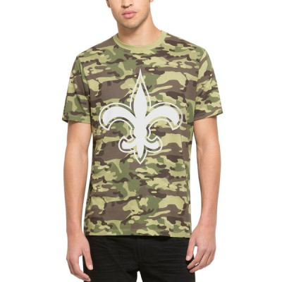 NFL New Orleans Saints  47 Alpha Camo Men's T-Shirt