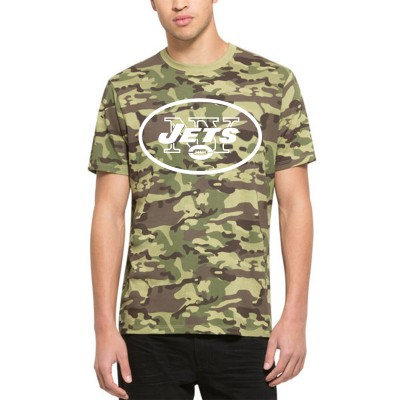 NFL New York Jets 47 Alpha Camo Men's T-Shirt