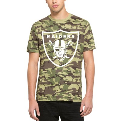 NFL Oakland Raiders 47 Alpha Camo Men's T-Shirt
