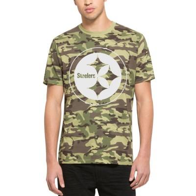 NFL Pittsburgh Steelers 47 Alpha Camo Men's T-Shirt