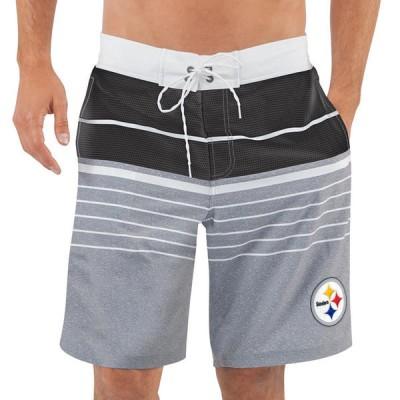 Pittsburgh Steelers NFL G-III Balance Men Boardshorts Swim Trunks