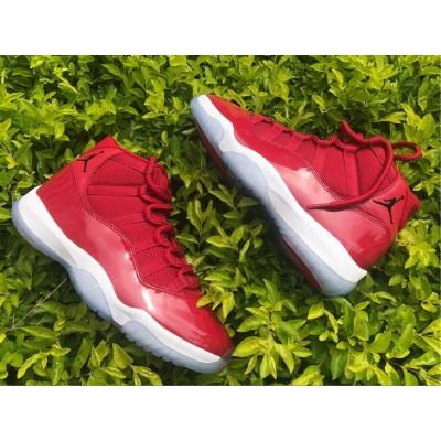 Nike Air Jordan 11 Gym Red High Shoes