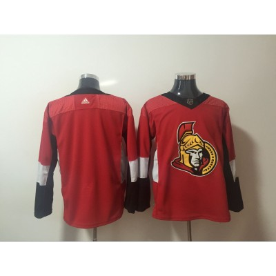 NHL Senators Blank Red Adidas Men Jersey