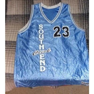 South End Blue Basketball Customize Men Jerseys