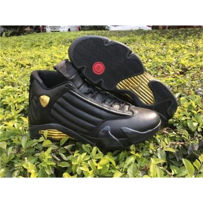 Air Jordan 14 DMP Black Gold Men Shoes