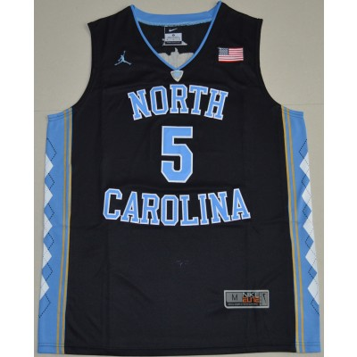NCAA Heels 5 Ty Lawson Black Basketball Men Jersey