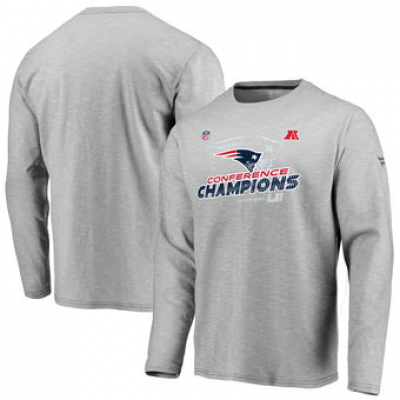NFL Patriots 2017 AFC Champions Long Sleeve T-Shirt