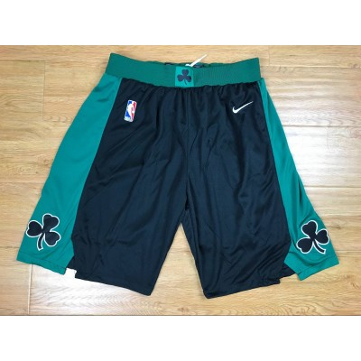 NBA Celtics Black Nike Authentic Shorts