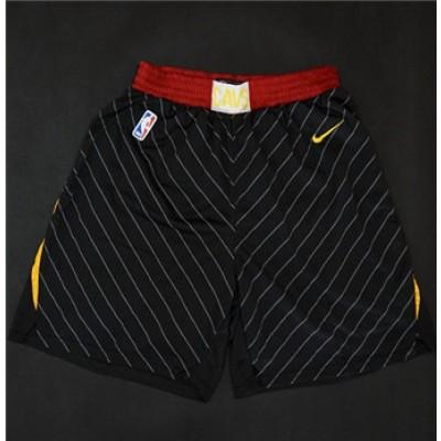NBA Cavaliers Nike Black Swingman Shorts