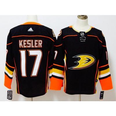 NHL Ducks 17 Ryan Kesler Black Adidas Men Jersey