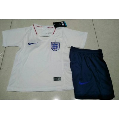 2018-19 England Home Soccer Youth Jersey