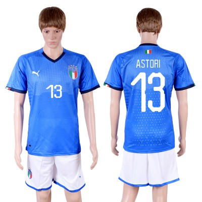 2018-19 Italy 13 ASTORI Home Soccer Men Jersey