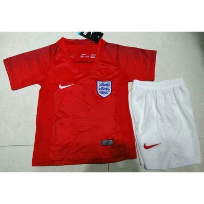 2018-19 England Away Soccer Youth Jersey
