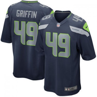 NFL Seattle Seahawks 49 Shaquem Griffin Nike Navy 2018 NFL Draft Youth Jersey
