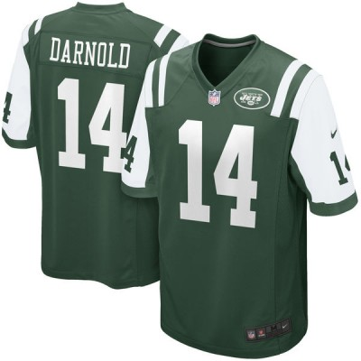 Nike Jets 14 Sam Darnold Green 2018 Draft Youth Jersey