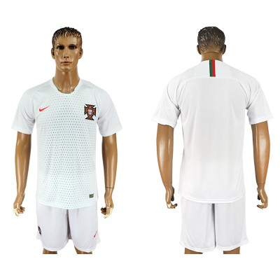 Portugal Away 2018 FIFA World Cup Soccer  Men Jersey
