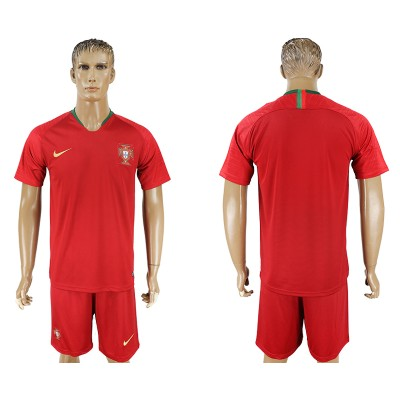 Portugal Home 2018 FIFA World Cup Soccer  Men Jersey