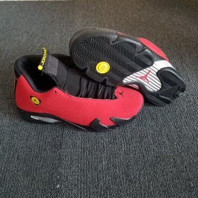 "Air Jordan 14 Retro ""Ferrari"" Challenge Red/Black Shoes"