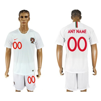 Portugal Away 2018 FIFA World Cup Customized Men Jersey