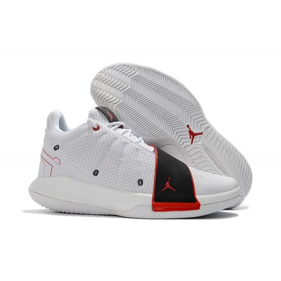 "Jordan CP3.XI ""Home"" White/University Red-Black Shoes"