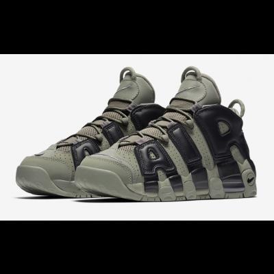 Nike Air More Uptempo Dark Stucco Shoes