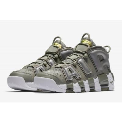 Nike Air More Uptempo Shine Dark Stucco Shoes