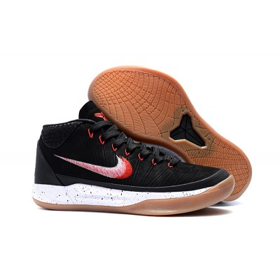 Nike Kobe AD Black/Sail-Light Brown Gum Shoes