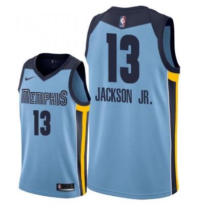 NBA Grizzlies 13 Jaren Jackson Jr. Blue 2018 NBA Draft Nike Men Jersey